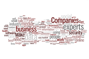 Dec 2012 HARO Tech Query Word Cloud by BloomThink
